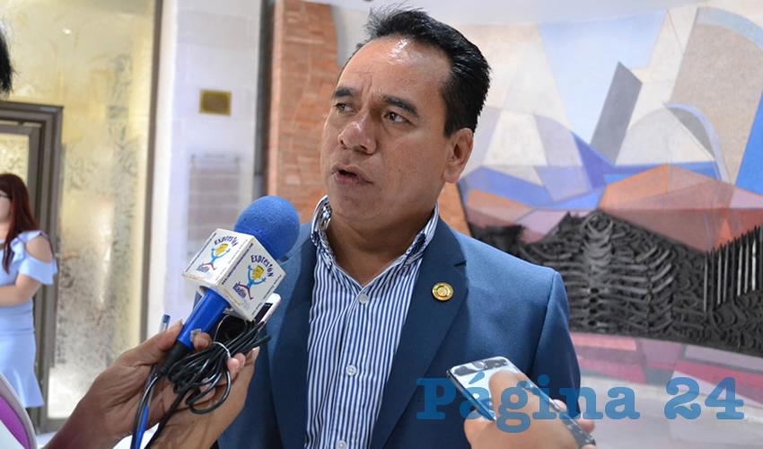 José Juan Mendoza Maldonado (Foto Merari Martínez Castro)