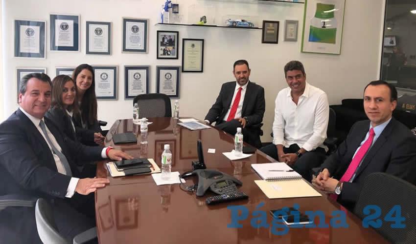 En el encuentro, el Gobernador y el Director de la Fundación Telmex analizaron la pertinencia de que este servicio llegue a todos los rincones de Zacatecas