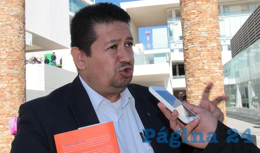 Simitrio Quezada Martínez, director del Instituto de Selección y Capacitación (Inselcap)