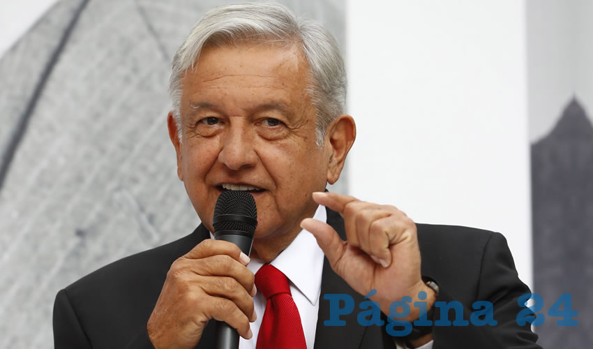 Andrés Manuel López Obrador ...a Peña no, a él sí...