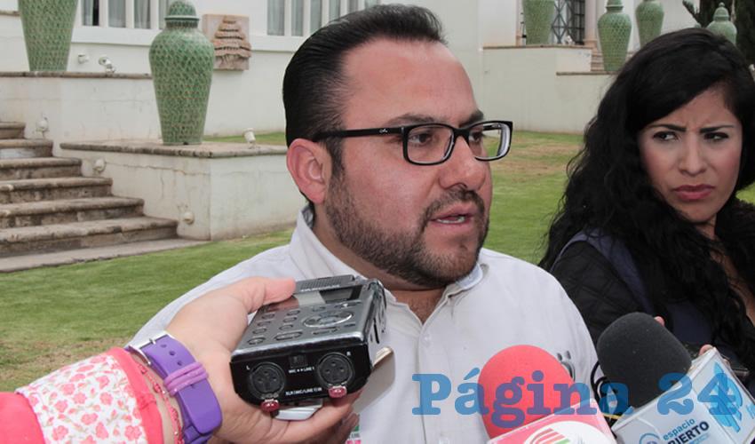 Manuel David Pérez Navarrete, procurador de la Defensa del Menor, la Mujer y la Familia (Foto Rocío Castro)