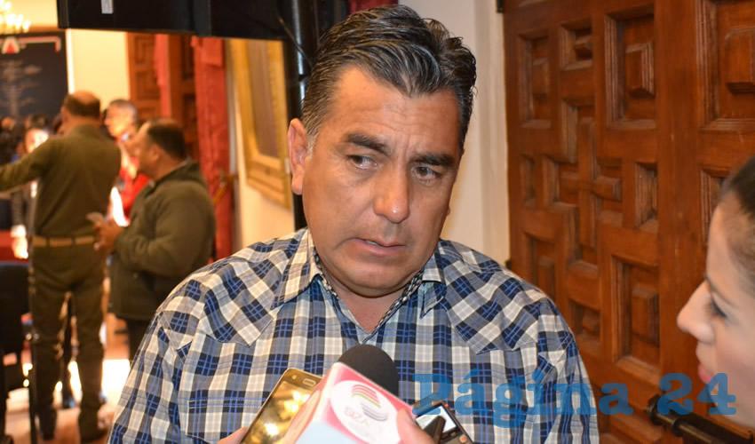 Felipe de Jesús Cabral Pulido, subsecretario de ganadería (Foto Archivo Página 24)
