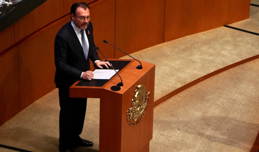"""Luis Videgaray afirmó que asume su """"responsabilidad histórica"""" (Foto: Cortesía)"""