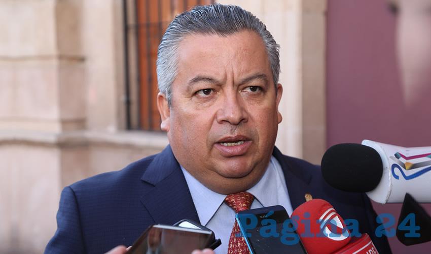 Ricardo Enrique Morán Faz, secretario general de Gobierno (Foto: Eddylberto Luévano Santillán)