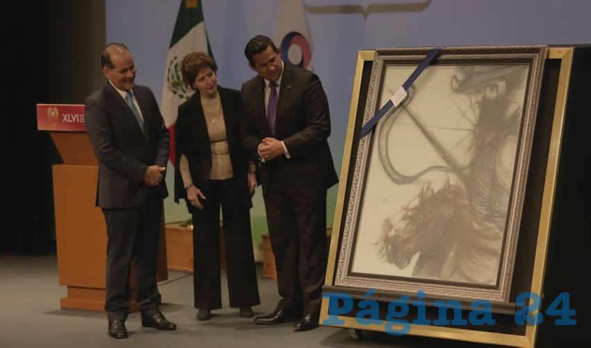 El gobernador Martín Orozco Sandoval participó en la inauguración de la edición 46 del Festival Internacional Cervantino, en la que Aguascalientes es el estado invitado