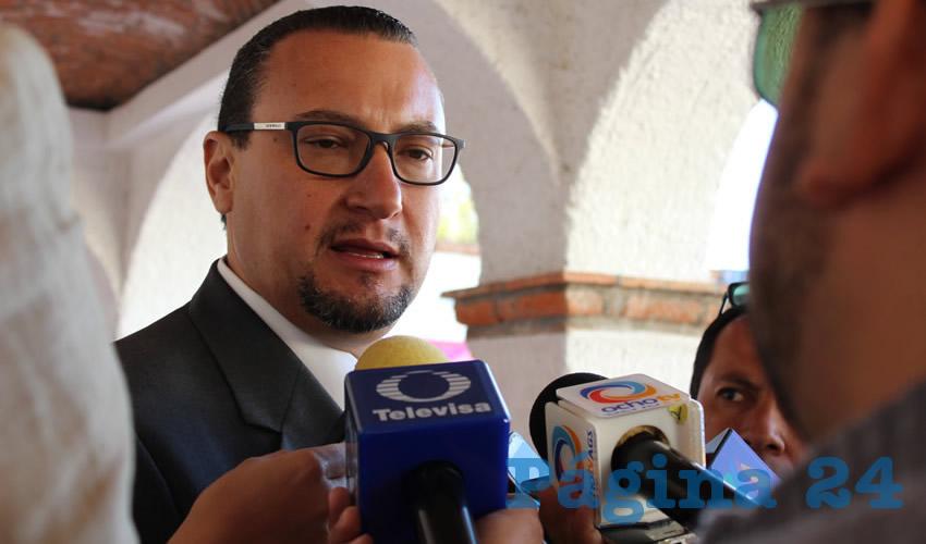 Paulo Martínez López, presidente del Comité Directivo del PAN