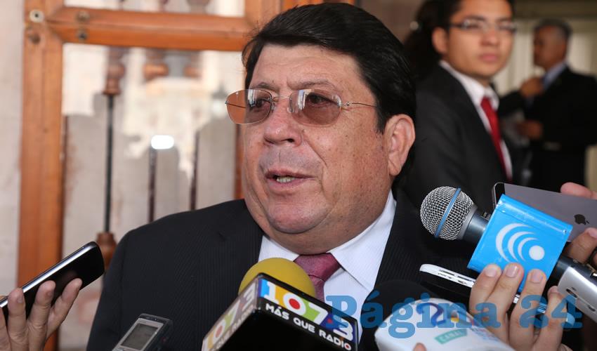Gonzalo Esparza Parada, delegado de la Secretaría de Comunicaciones y Transportes