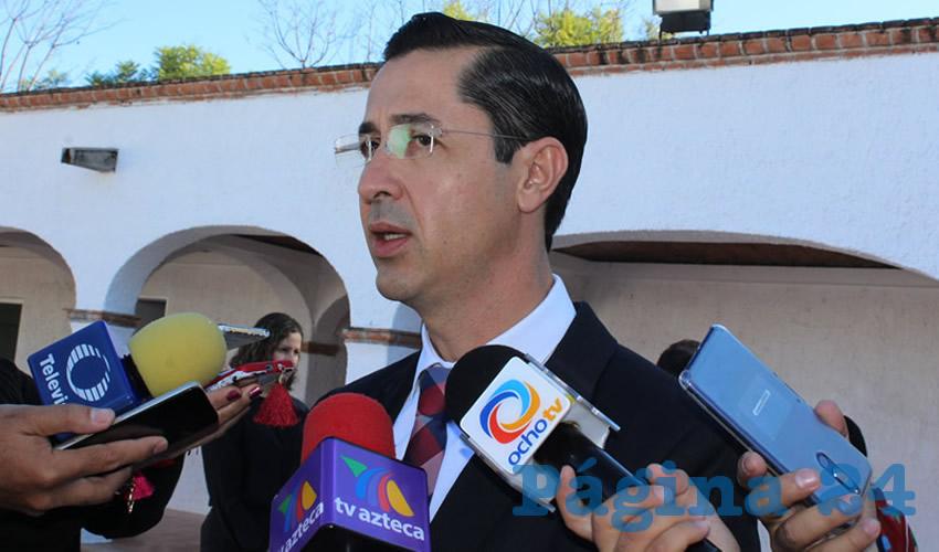 Luis Fernando Landeros Ortiz, presidente consejero general del IEE