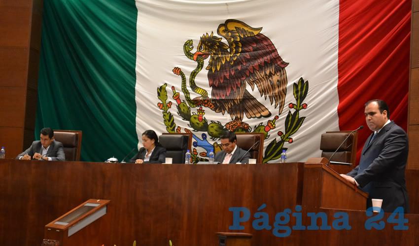 José Luis Pedroza Ochoa, titular de la Secretaría de Obras Públicas (Foto Merari Martínez Castro)