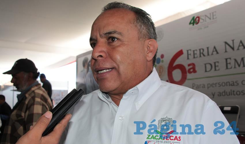 Cliserio del Real Hernández, titular de la Subsecretaría del Servicio Nacional de Empleo (SNE). (Foto: Rocío Castro Alvarado)