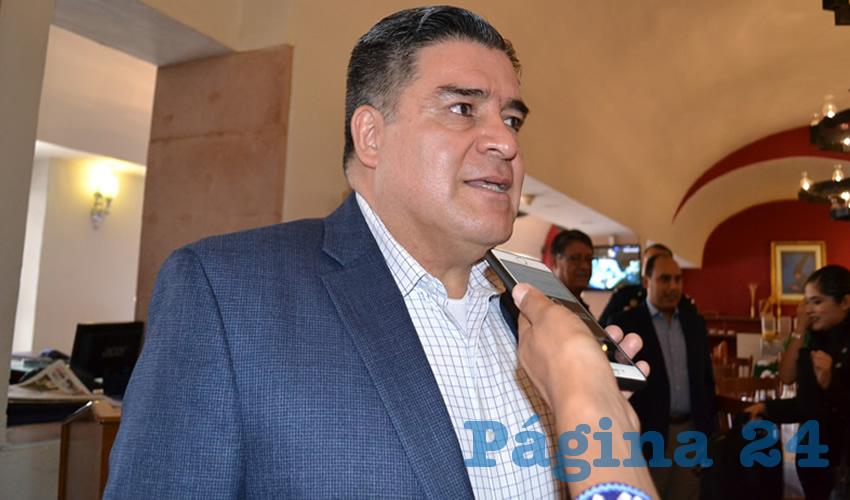 Ismael Camberos Hernández, titular de la Secretaría de Seguridad Pública (SSP) (Foto Archivo Página 24)