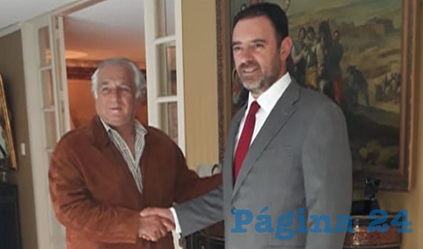Alejandro Tello se reunió con Miguel Torruco para delinear una estrategia entre federación y estado, a fin de reforzar la industria turística local