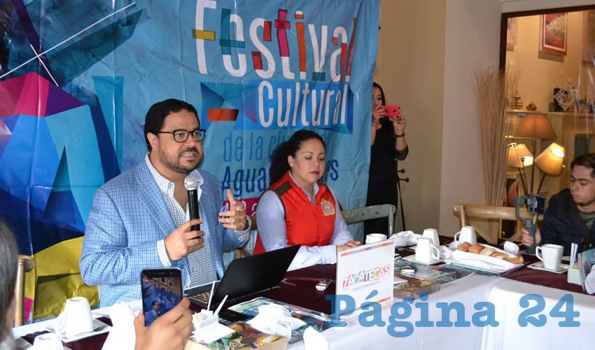 Promueven el Festival Cultural de Aguascalientes 2018 en el Vecino Estado de Zacatecas