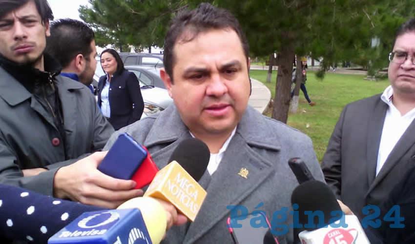 Antonio Guzmán Fernández, rector de la Universidad Autónoma de Zacatecas (Foto: Merari Martínez Castro)