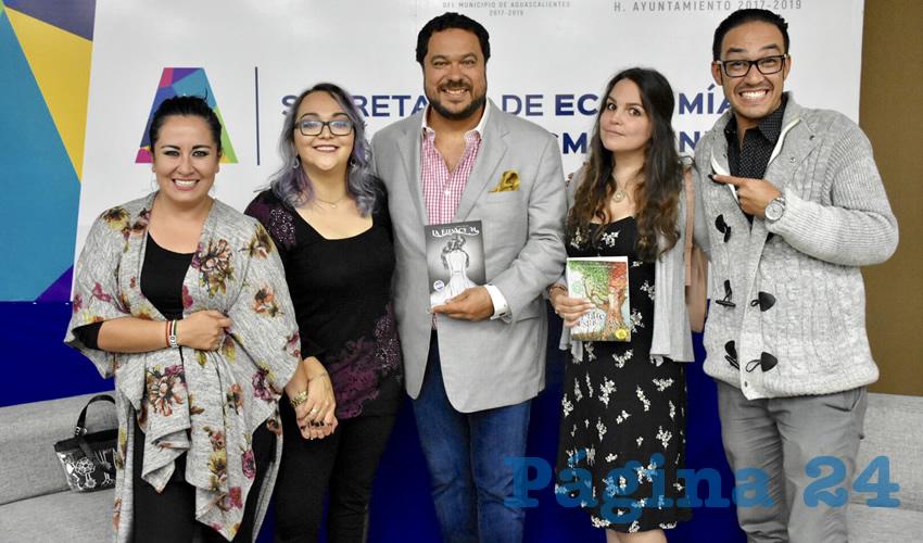 Jóvenes Escritoras son Embajadoras del Corazón de México