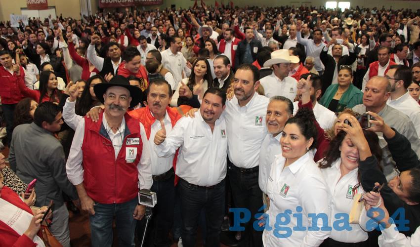 Gustavo Uribe Góngora, nuevo dirigente estatal del Partido Revolucionario Institucional (PRI). (Fotos: Rocío Castro Alvarado)