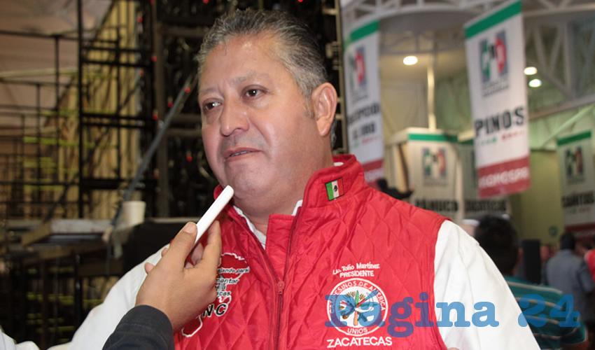 José Antonio Martínez Zaragoza, líder estatal de la Confederación Nacional Campesina (CNC)