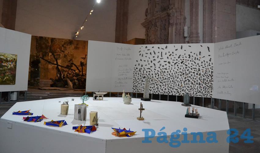 En el Ex Templo de San Agustín Exponen Obras de Pintores Zacatecanos