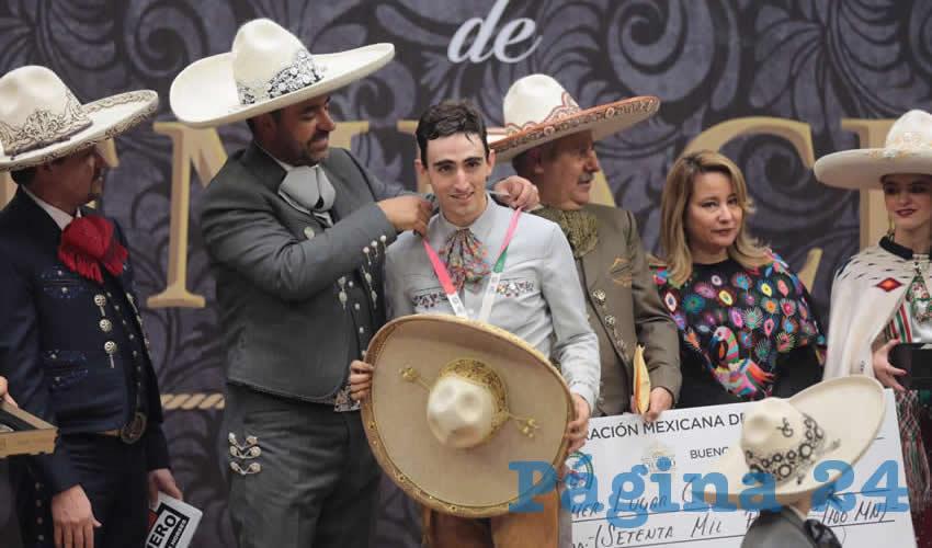 Ayer domingo se premió a los ganadores de las categorías AAA y Charro Completo