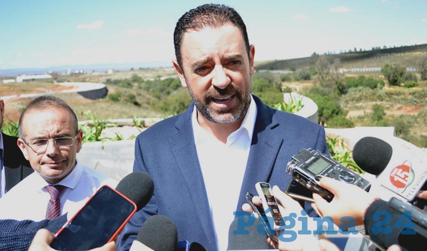 Alejandro Tello Cristerna, gobernador del Estado de Zacatecas. (Foto: Merari Martínez)