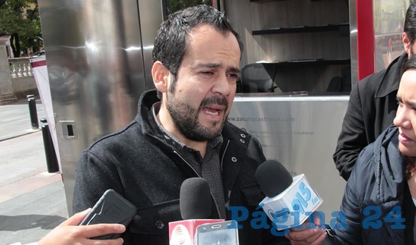 Ulises Mejía Haro, presidente municipal de Zacatecas (Foto: Archivo Página 24)
