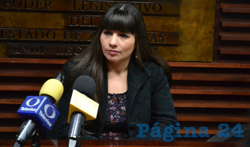 Gabriela Pinedo Morales, diputada local por el Partido del Trabajo (PT) (Foto: Archivo Página 24)