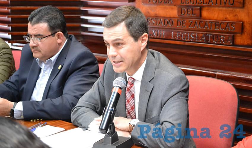 Compareció el titular del ISSSTEZAC, pago de pensiones principal problemática (Foto Merari Martínez Castro)