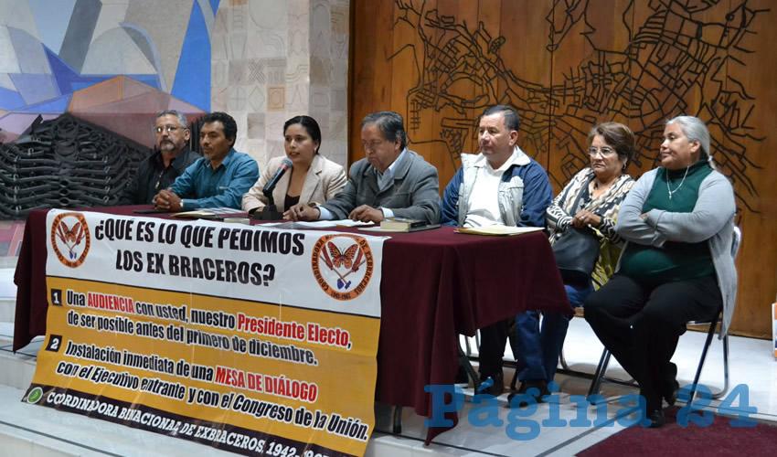Efraín Arteaga Domínguez señaló que el 31 de octubre la Suprema Corte de Justicia de la Nación dictó su resolución final respecto al caso de los exbraceros que vienen luchando por la restitución de sus fondos de ahorro y demandaron al gobierno federal. (Foto Merari Martínez Castro)