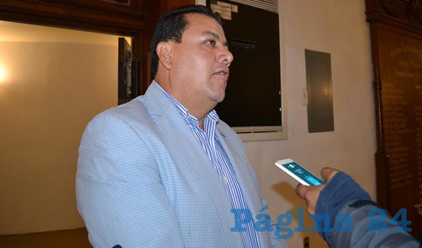 Fernando Galván Martínez, integrante del partido político Movimiento de Regeneración Nacional (Morena) (Foto Archivo Página 24)