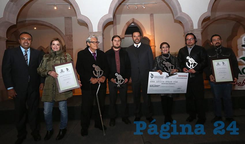 Resultan ganadores Martín Catalán Lerma y Manuel López Frausto