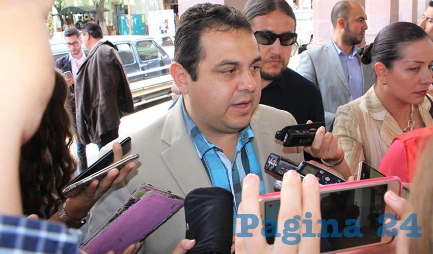 Antonio Guzmán Fernández, rector de la Universidad Autónoma de Zacatecas (UAZ) (Foto Archivo Página 24)