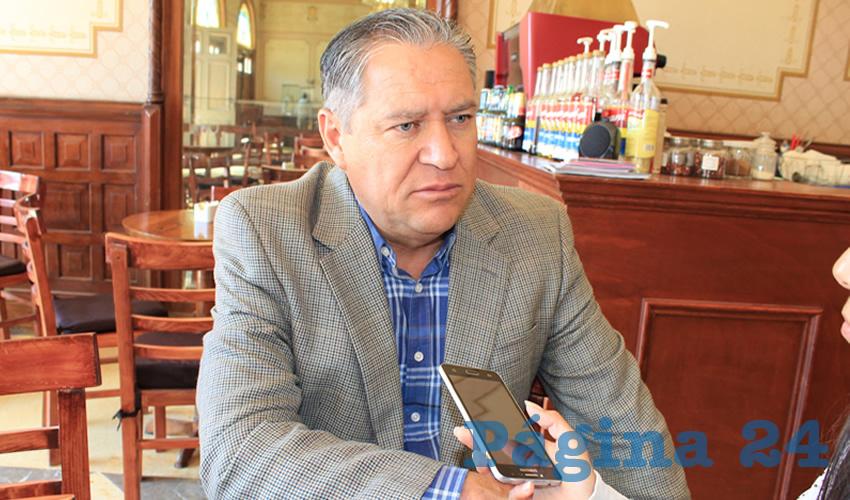Javier Calzada Vázquez, diputado local del Partido Encuentro Social (PES) (Foto Archivo Página 24)
