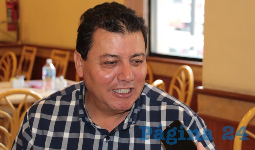 Fernando Galván Martínez, integrante de Movimiento de Regeneración Nacional (Morena) (Foto Rocío Castro Alvarado)