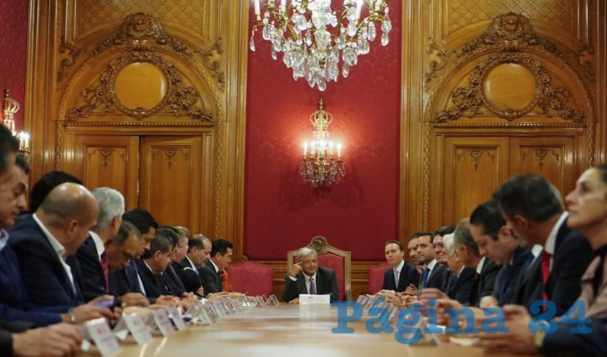 En reunión de la Conago, la y los mandatarios coinciden en que se deberá partir de una perspectiva regional y bajo el respeto a los diferentes niveles de Gobierno