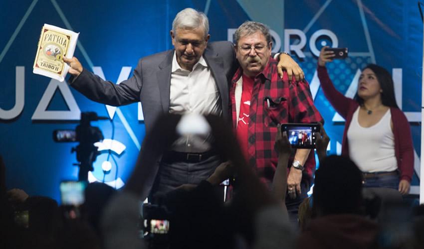 Paco Ignacio Taibo II Merece ser Director  del FCE, ya se Disculpó: López Obrador