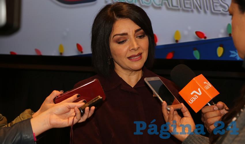 Nancy Xóchitl Macías Pacheco, directora general de DIF Estatal (Foto: Eddylberto Luévano Santillán)