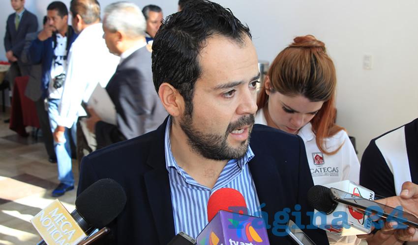 Ulises Mejía Haro, presidente municipal de Zacatecas (Foto Rocío Castro