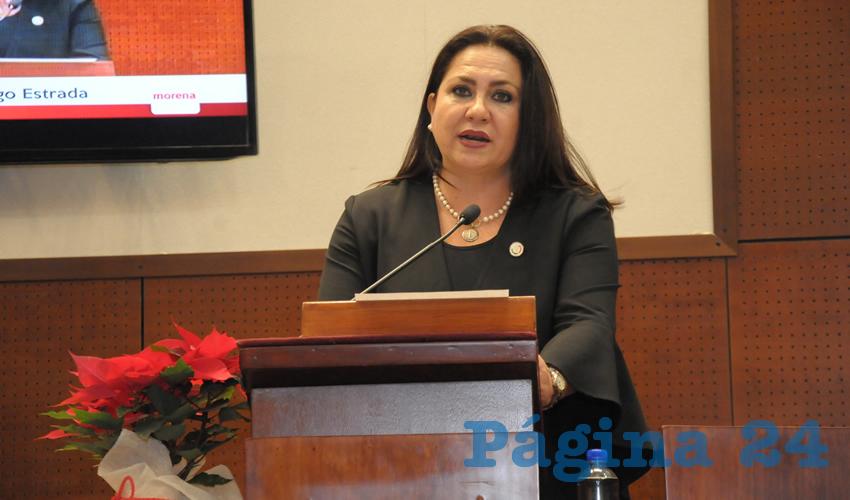 Mónica Borrego Estrada, diputada local por Movimiento de Regeneración Nacional (Morena) (Foto Cortesía)