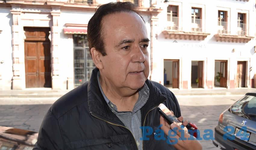 Antonio Mejía Haro (Foto: Merari Martínez)