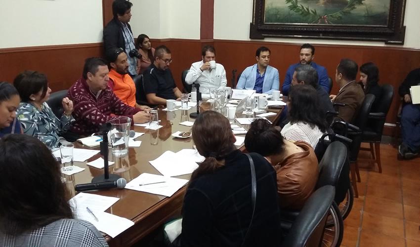 La Comisión de Movilidad y Transporte es la encargada de llevar a cabo las reuniones mensuales, con las cuales se pretende crear e impulsar iniciativas/Foto: Francisco Tapia