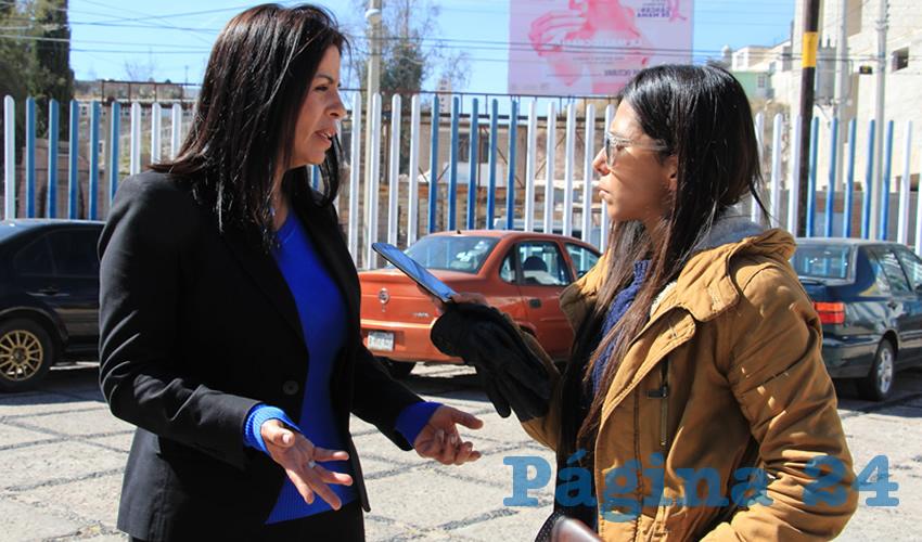 María Guadalupe Medina Padilla, ex regidora del ayuntamiento de Zacatecas (Foto Rocío Castro)