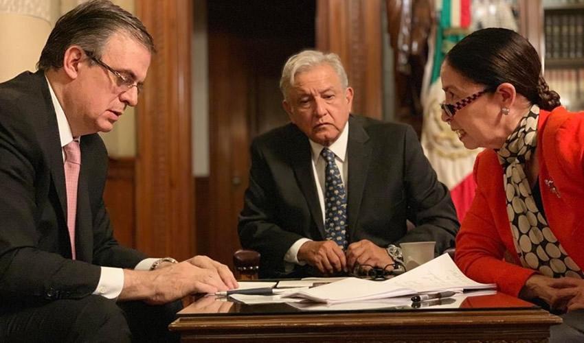 López Obrador Conversa con Donald  Trump Sobre Migración vía Telefónica