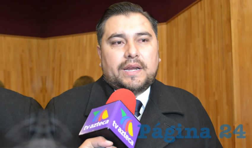 Armando García Neri, subsecretario de Prevención Social (Foto Merari Martínez)
