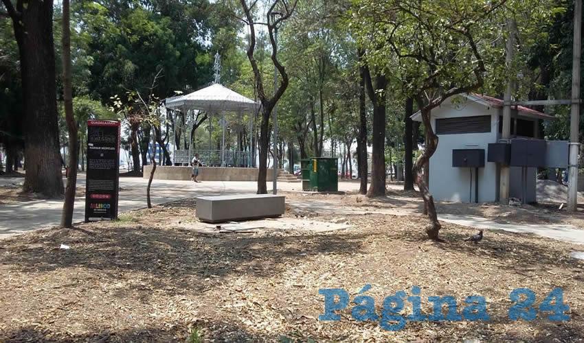 El Parque Morelos  sigue con pendientes