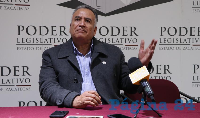 Armando Perales Gándara, diputado local de Movimiento de Regeneración Nacional (Morena) (Foto Rocío Castro Alvarado)