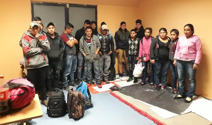Arrestan a 17 Guatemaltecos y los Ponen a Disposición de la PGR