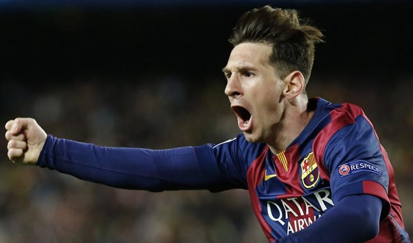 Con gol de Messi Barcelona es el Campeón de España