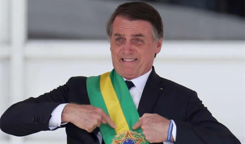 Cerca de 90 de los 513 congresistas son evangélicos, pero el número de esa bancada puede aumentar por el apoyo explícito de Bolsonaro Jair Bolsonaro, presidente de Brasil (Foto: Archivo/Xinhua)