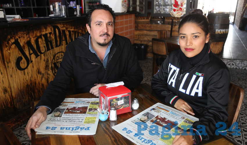 En birria Don Benito se reunieron Kendor Gregorio Macías Martínez y Margarita Orta Martínez