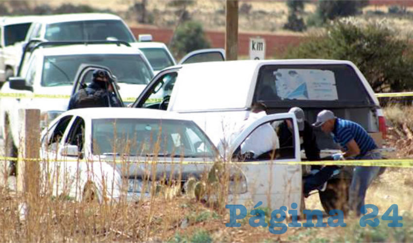 El joven asesinado a balazos en el interior del Jetta (Fotos: Cortesía)